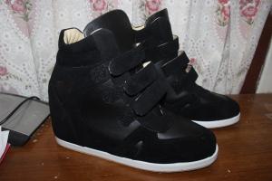 Hasil jadi Sneaker Wedges yang saya terima