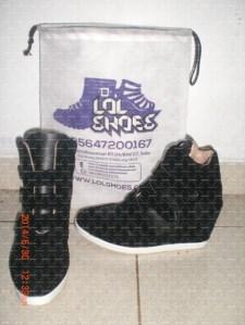 Contoh Model sepatu Sneaker Wedges LOLShoes yang saya inginkan, tipe SWPP-49