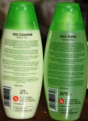 Viva Cosmetics Milk Cleanser dan Face Tonic GREEN TEA (2)